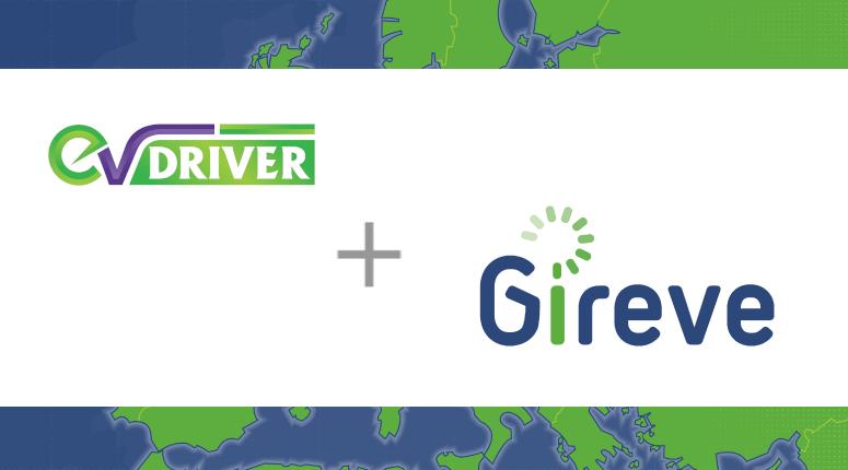 EV Driver se connecte à la plateforme d'itinérance GIREVE