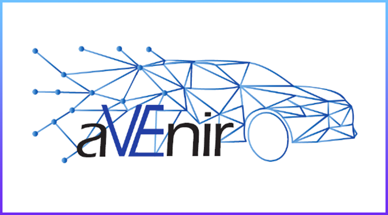 logo aVEnir projet Groupe Renault, Groupe PSA, Schneider Electric, Total EV Charge, Groupe EDF (filiale IZIVIA), Dreev, GIREVE, Trialog, Electric 55 Charging, Université Grenoble Alpes, Aix Marseille Université