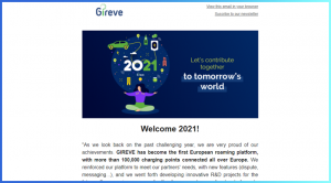 In 2021, GIREVE has become the first European roaming platform, with more than 100,000 charging points connected all over Europe.