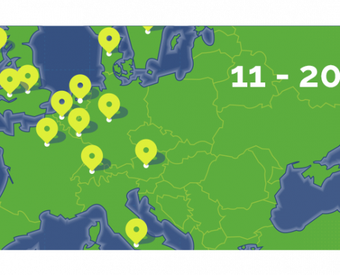 GIREVE regularly publishes a barometer of the connected charging points on its roaming platform.