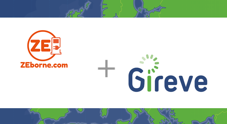 French operator Zeborne is now connected to GIREVE's roaming platform for its charging stations in shared places.