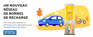 La Métropole Nice Côte d'Azur  rejoint la plateforme GIREVE en tant qu'opérateur de recharge afin d'ouvrir son réseau Prise de Nice à tous les utilisateurs de véhicules électriques.