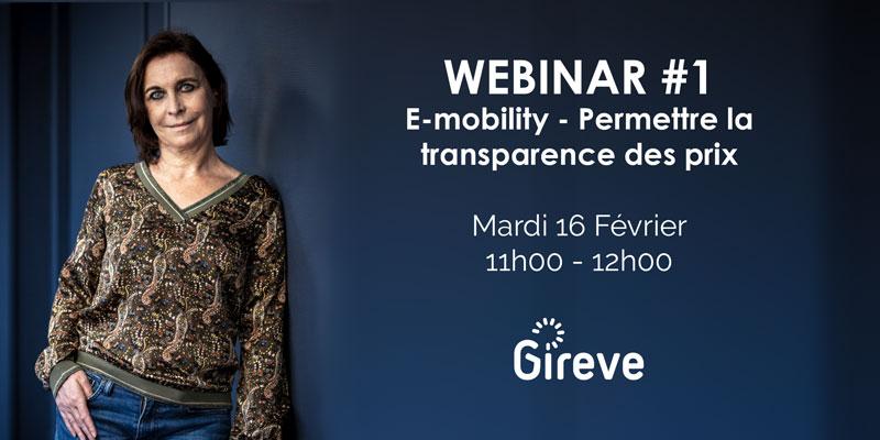GIREVE organise son premier webinar sur la transparence des prix en situation d'itinérance