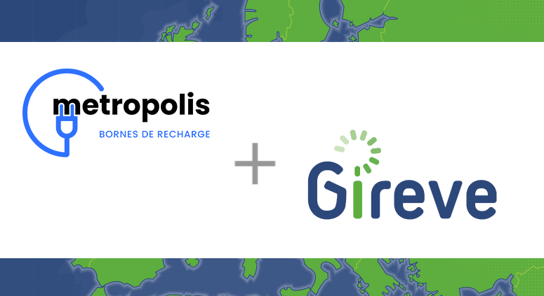 Metropolis is now connected to GIREVE's platform to open its network to roaming, allowing EV drivers to access and pay their charge with their usual mobile app or badge.