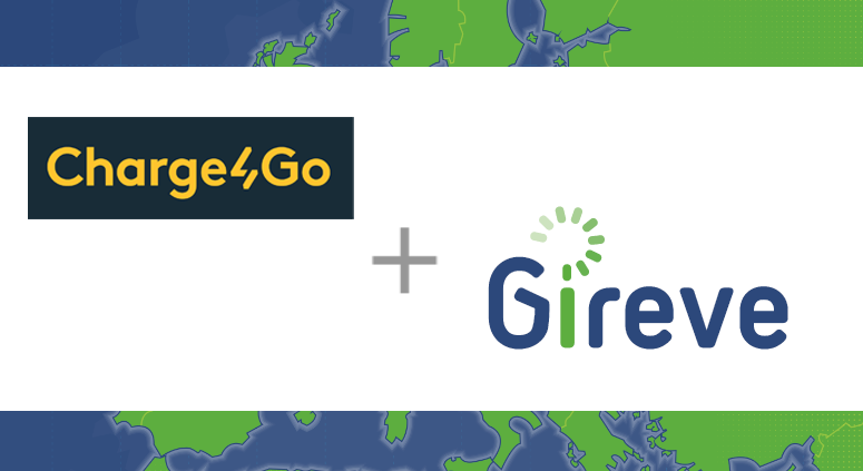 Charge4Go in connected to GIREVE's plateform