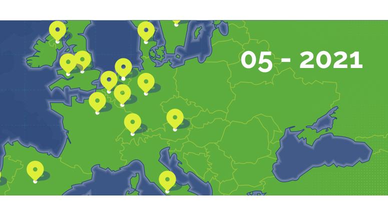 Mai 2021 – L'ITINERANCE EN EUROPE