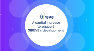 A capital increase to support gireve's development