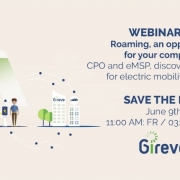 GIREVE #3 e-Mobility - Roaming, an opportunity for your company?